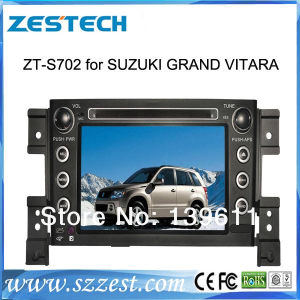 "Zestech 7"" Car DVD Player GPS Radio Stereo Bluetooth IPOD Double Din for Suzuki GRAND VITARA(China (Mainland))"