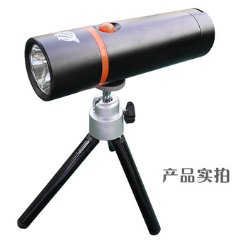 3W LED Blue Light Fishing Lamp with tripod,Special for fishing blue laser flashlight free shipping