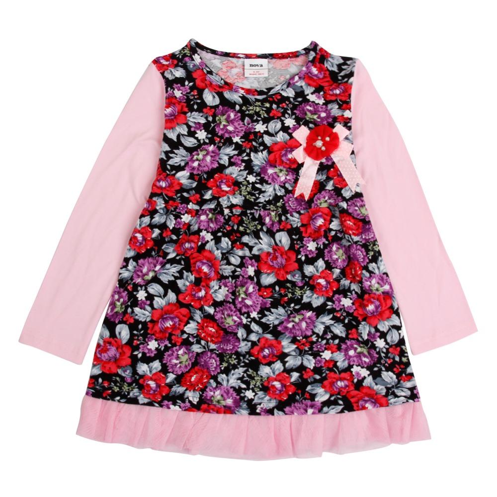 nova kids wear baby Girl dress girls clothing children's infant fashion girl party dresses