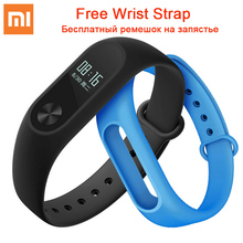 Buy 100% Original Xiaomi Mi Band 2 Smart Fitness Bracelet watch Wristband Miband OLED Touchpad Sleep Monitor Heart Rate Mi Band2 for $26.99 in AliExpress store