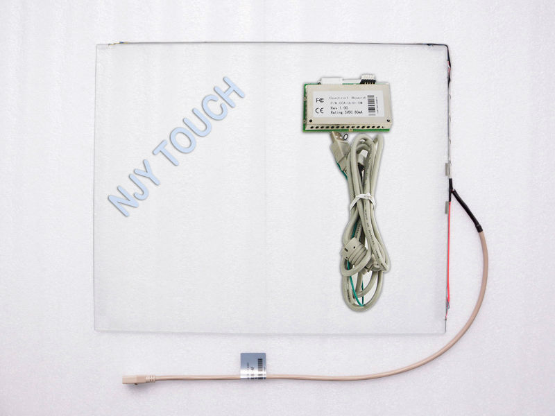 New 19 inch Surface Acoustic Wave Touch Panel Screen 4mm+USB Controller Kit 4:3(China (Mainland))