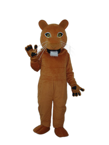 Hot selling!New strange clever little Cougar Cartoon Fancy Dress Suit Outfit Animal Mascot Costume  -  Sam's World store