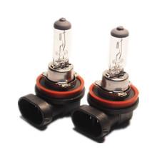 2pcs car fog lamp H11 12V 55W pgj19-2 clear car light source external lights foglights halogen bulb quartz glass CP010(China (Mainland))