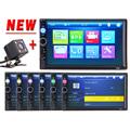 2 DIN Car Video Player Bluetooth HD Stereo Radio FM MP3 MP5 DVD Audio USB Auto