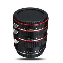 Aputure Auto for Focus Macro Extension Tube Ring for Canon EOS Lens for Focus Macro Extension Tube Set AC-MC New(China (Mainland))