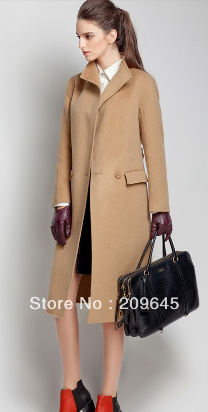 Camel Trench Coat Photo Album - Reikian