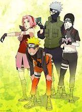Free shipping Naruto Shippuden Japan Anime TEAM 7 Art Silk Wall Poster 24×36″ NRT42