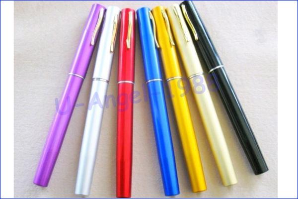 Telescopic Mini Fishing Rod Pen Shape Portable Pocket Aluminum Alloy Fishing Fish Spinning Rod Pole with Reel +free shipping