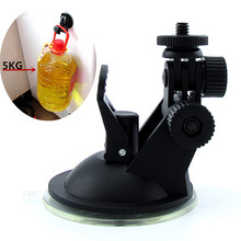 2016 New Storage Holders Car Holder for Sport DV Sport Camera GPS DVR Holders Driving Recorder Suction Cup Bracket Free Shipping(China (Mainland))