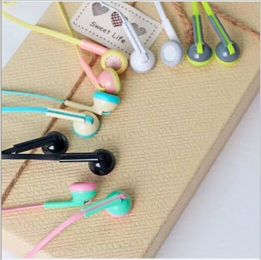 Original Brand Earphones Best Quality No MIC 3.5MM Jack Stereo Bass For Mobile Phone MP3 MP4 Music(China (Mainland))