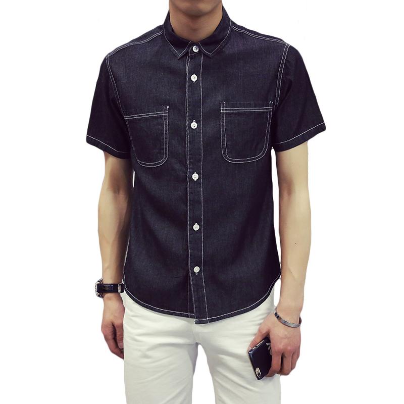 denim shirt pockets - photo #47