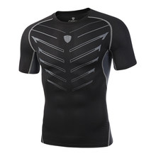 Nouveau Moto t-shirts et bas collants ensemble séchage rapide Jersey Moto Enduro respirant hommes été sans manches gilet Motocross costume(China)