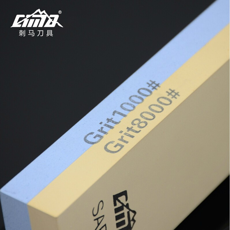 Buy corundum silicon carbide 1000/8000 grit  whetstone for knives 7*2*1 inches waterstone cheap
