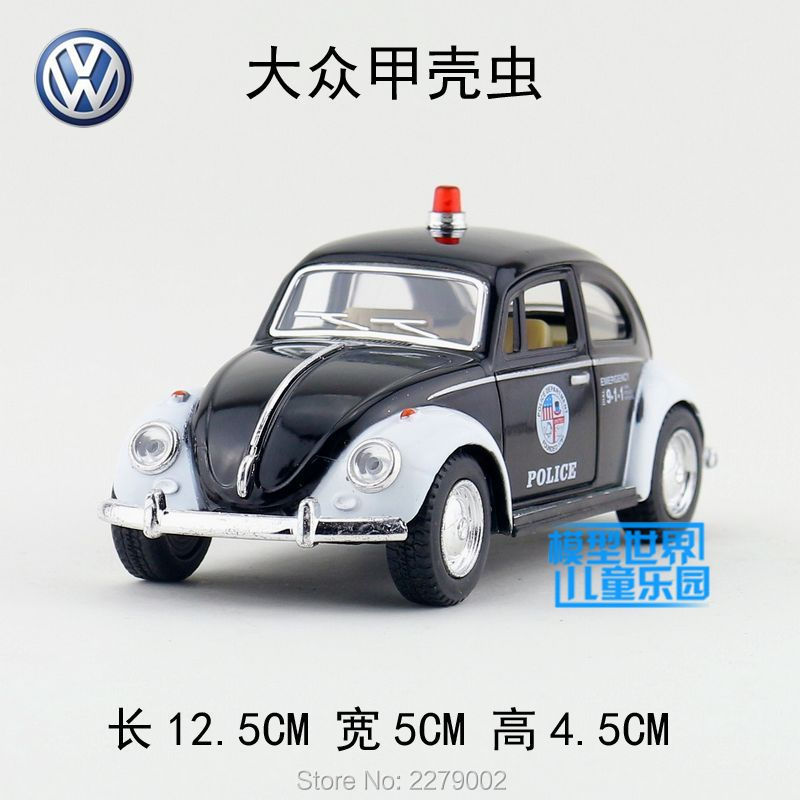KINSMART Die Cast Metal Models/1:32 Scale/1967 Volkswagen Classical Beetle(Police) toys/for children's gifts or for collections(China (Mainland))