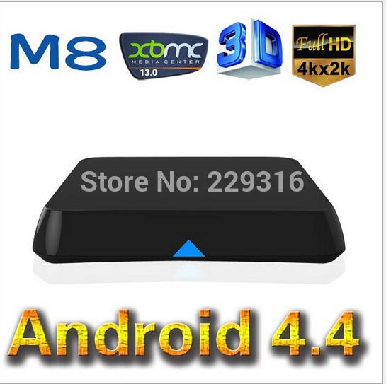 Android 4.4 M8 2GB Ram TV Box Amlogic M8 S802 XBMC Quad Core XBMC Android TV Box GPU 4K HDMI XBMC Bluetooth HD<br><br>Aliexpress