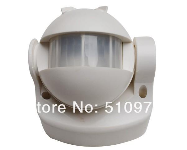 Здесь можно купить  EMS Free shipping!!! NEW180 Degree White Security infrared Motion Sensor Switch Pir Detector (Black ) EMS Free shipping!!! NEW180 Degree White Security infrared Motion Sensor Switch Pir Detector (Black ) Электронные компоненты и материалы