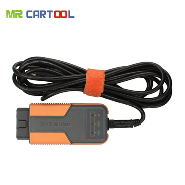 100% Original MVCI 3 IN 1 V10.10.018 High Performance Factory Diagnostics For TOYOTA TIS Multi-Languages Free Shipping
