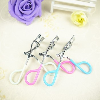1 pcs Women Lady Wonderful Pro Handle Eye Lashes Curling False Eyelashes Curlers Clip Beauty Makeup Tool for eys