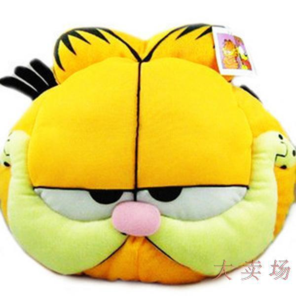 "Garfield plush throw pillow, bolster, cushion 20"" / 50cm: 1pcs , plush toy, Good quality!  FAST SHIPPING"
