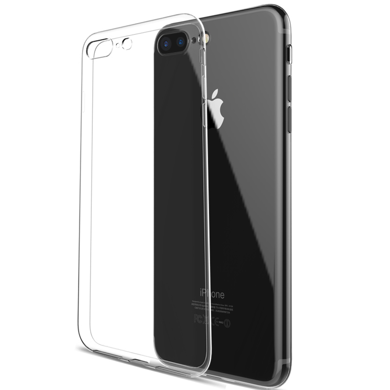For iphone 7 Case Coque Soft Silicone Clear Cover For iphone 7 6 6s Plus Transparent Mobile Phone Bag Case 4.7 5.5 Cellphone(China (Mainland))