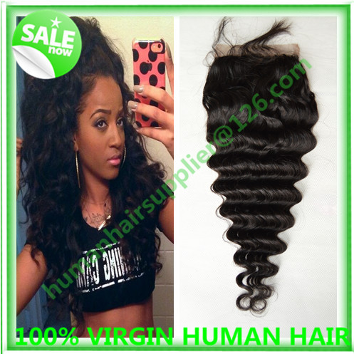 6A cheap closure with silk base malaysian silk base closure 4x4 modern show hair silk closure with nleached knots deep wave full<br><br>Aliexpress