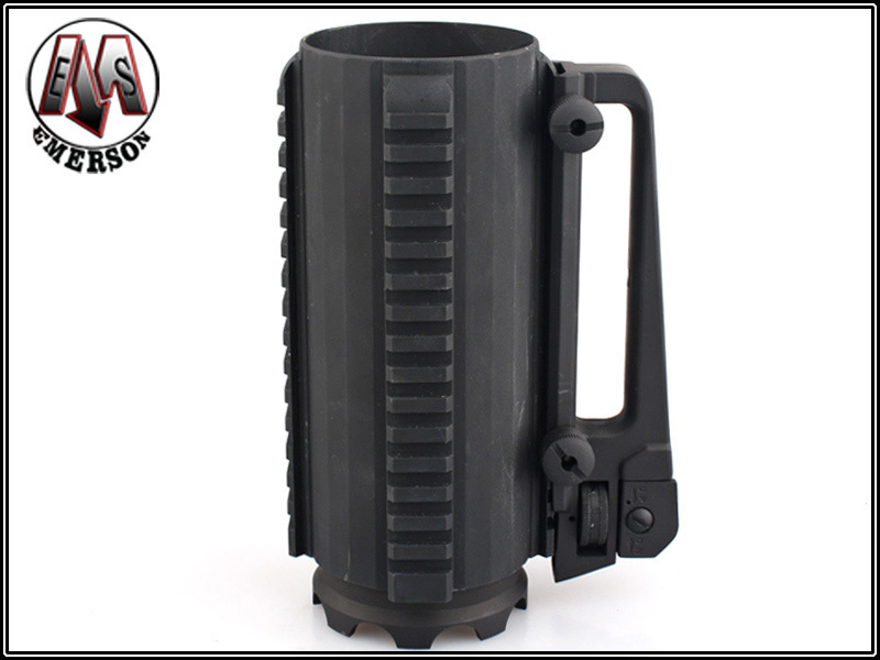 Здесь можно купить  Emerson Airsoft Tactical Multifunctional Mug Outdoor Hunting Shooting Combat Military Useful Cool Bottle w/Rail&Hook Black   Спорт и развлечения