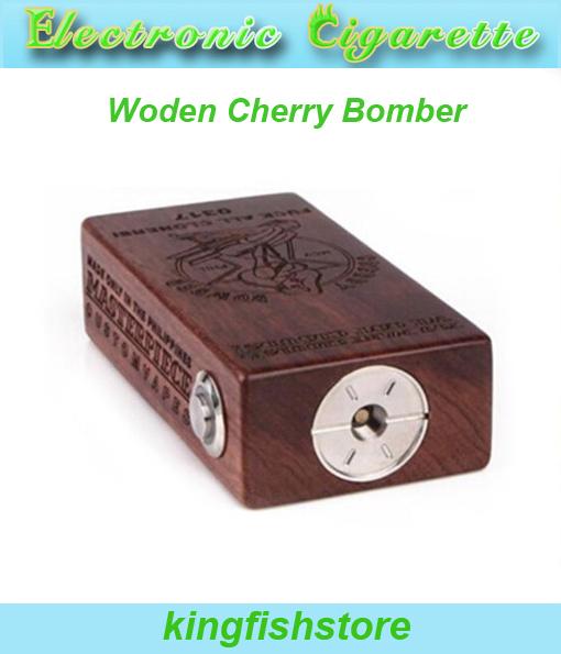 woden сандалии black leo модель 259538131 18650 510 RDA Woden Cherry Bomber
