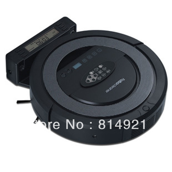 Slim Skoner,TOP-Grade Multifunctional 5 In1  Robotic vacuum cleaner QQ5,non touch charge base , Sonic wall,UVSterilize<br><br>Aliexpress