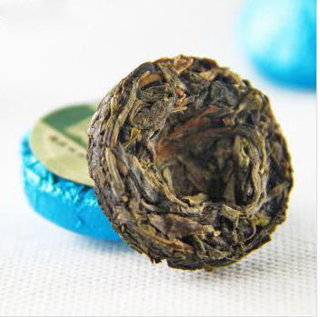 100g 20pcs bag natural original taste bowl shaped compressed puer ripe tea
