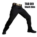 TAD New IX9 Shark Skin Soft Shell Military Pants Men Waterproof Heat Reflection Sport Outdoor Trousers