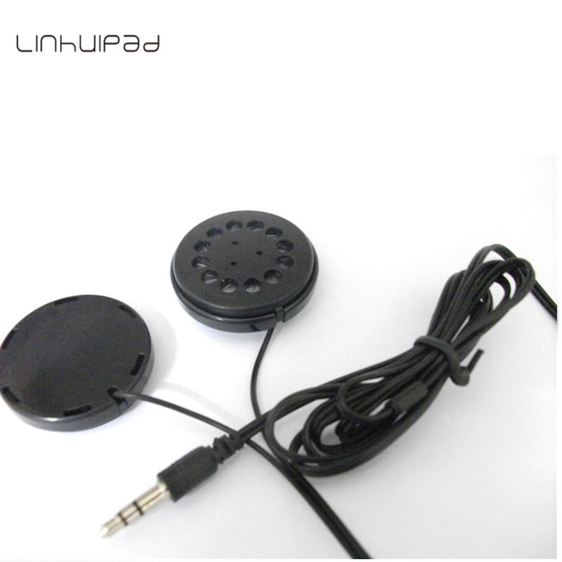 Linhuipad Flat headphones Big size speaker headphones for headband hat 2pcs/lot Free shipping by post(China (Mainland))