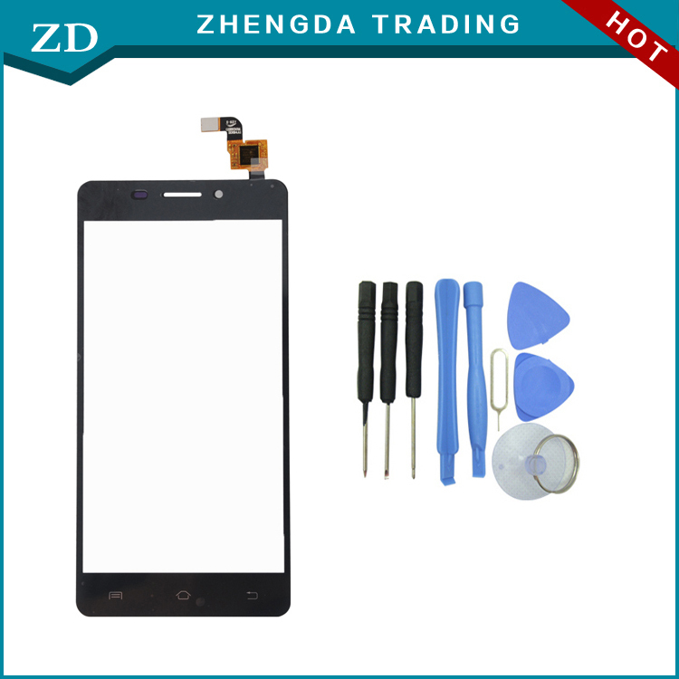Original Doogee F2 Touch Screen Touch Panel for Doogee IBIZA F2 Smartphone Perfect Replacement Free Shipping-black+tools(China (Mainland))