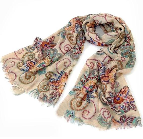 2016 осенне-лето новый женская хлопок смесей тотем ретро богемия шали шарфа благородный шаль бесплатная доставка