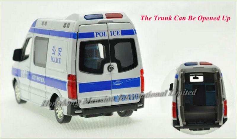 132 Police Ambulance Car Model For Benz Sprinter (8)