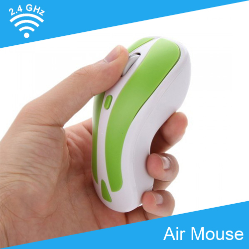 [Free Shipping] 2in1 2.4G Wireless Gyroscope Air Mouse 1600DPI for Android TV Box/Smart TV/PC/Laptop(China (Mainland))