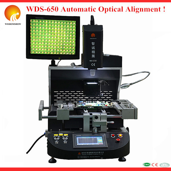 WDS-650 Semi-auto ! IR2700w Soldering PS3 XBOX360 Chip Laptop Rework Station BGA Motherboard Repair Machine Professional - Shenzhen Wisdomshow Technology Co., Ltd. store