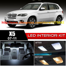 Buy Free 14Pcs/Lot 12v car-styling Xenon White/Blue Package Kit LED Interior Lights 07-11 BMW X5 for $56.49 in AliExpress store