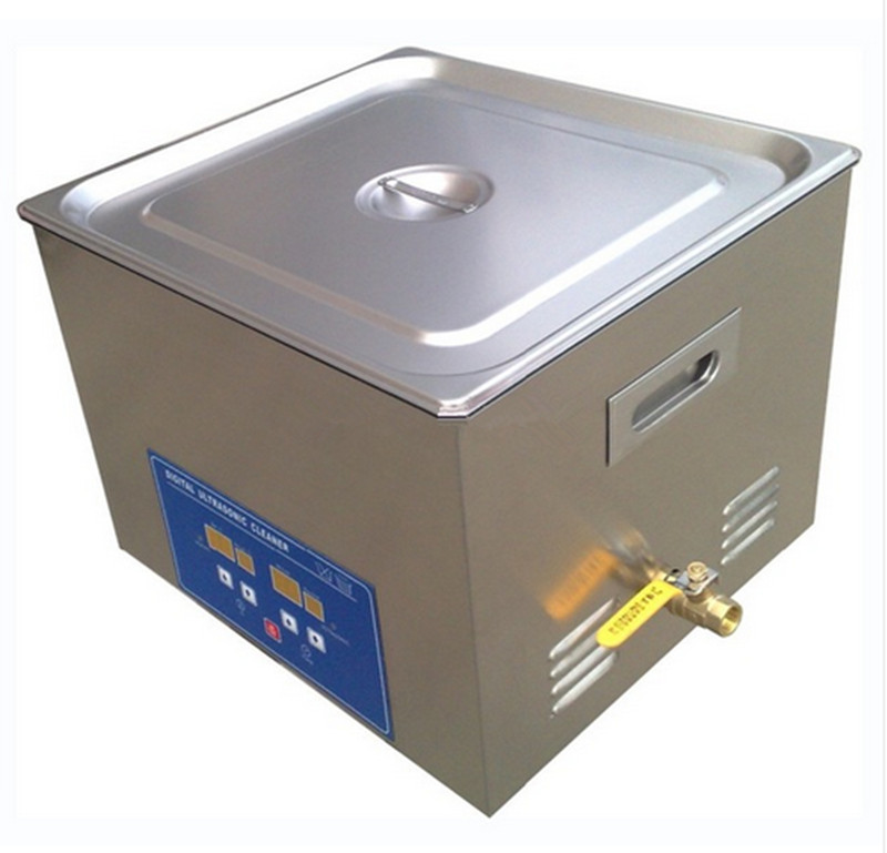 free shipping 15L Stainless Digital Ultrasonic Cleaner machine(China (Mainland))