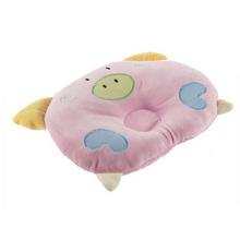 Baby Piggy Prevent Flat Head Pillow Soft Cotton Shaped Sleeping Support Pillow (China (Mainland))