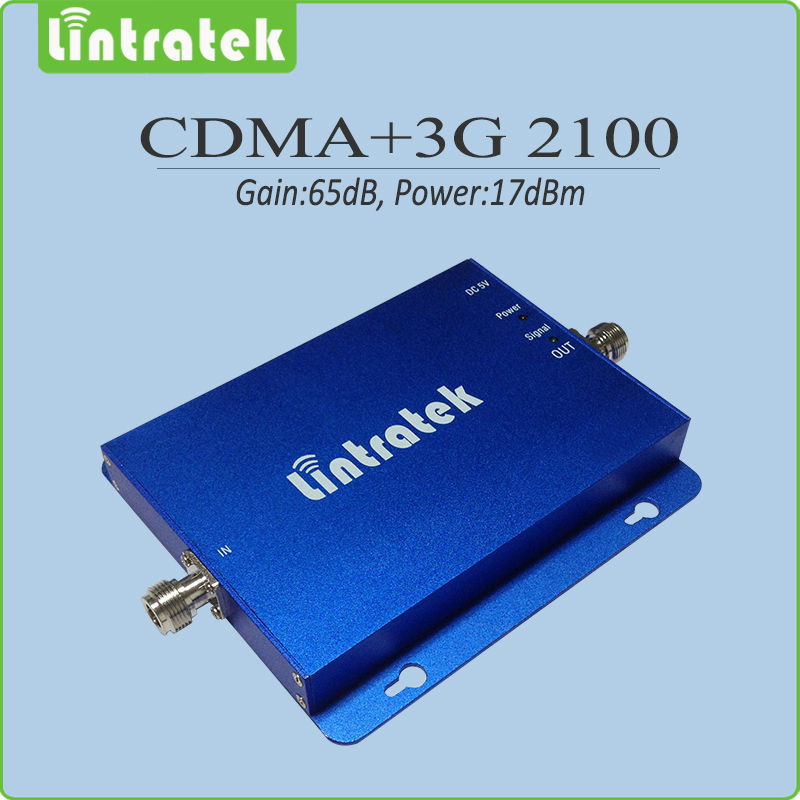 Gain 65dB Dual band signal amplifier 850Mhz 2100Mhz 2g 3g CDMA WCDMA UMTS mobile signal repeater