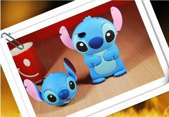 Fashion 3D stitch hard back case for iphone 4g 4s stitch case