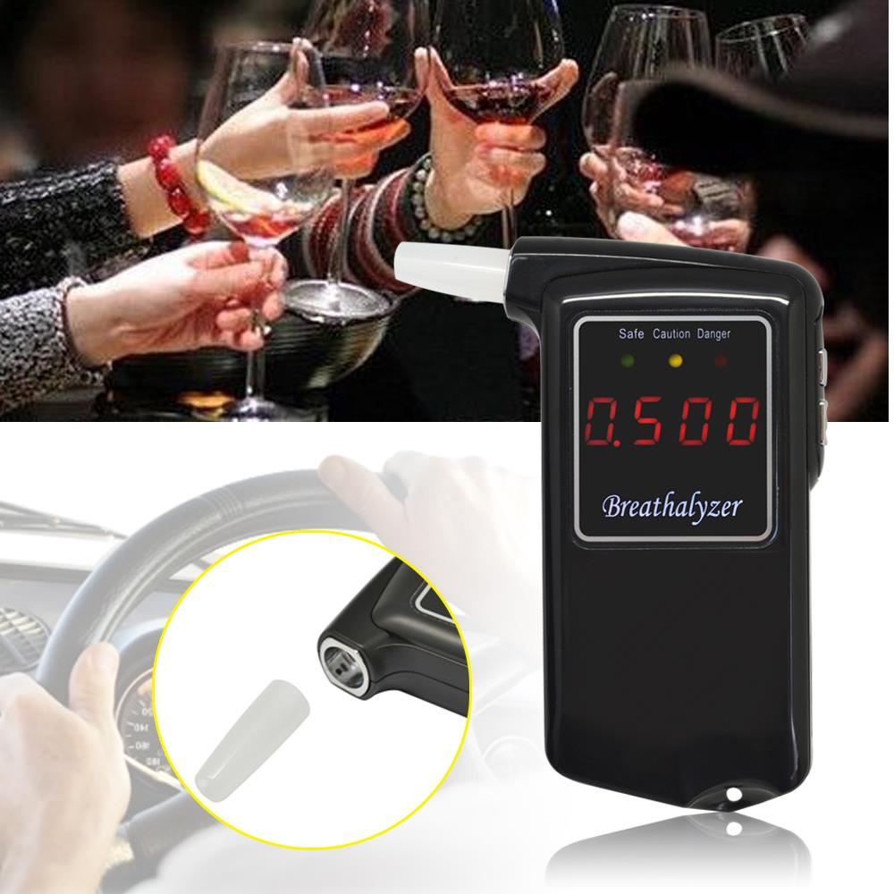 HOT!Free shipping LCD digital alcohol breath tester pipe tester testers medical car accessories alcohol meter(China (Mainland))