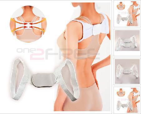 Posture Brace Shoulder Back Support Band Correct Belt Body Wrap Rectify Posture humpback rectify band beauty belt(China (Mainland))