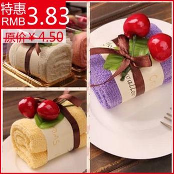 Wedding towel cake gift birthday gift small gift teachers day gift(China (Mainland))