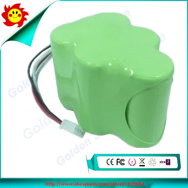 Free Shipping Rechargeable Battery 6v 3.0ah Replacement Battery For ecovacs deebot D650(China (Mainland))