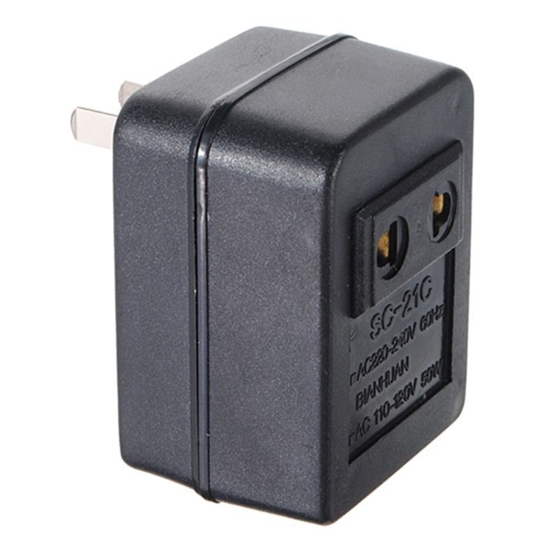 Newest Hot US Japan Canada Brazil AC 220V to 110V AC Power Voltage Converter 50W Adapter Travel Transformer Promotion Wholesale(China (Mainland))