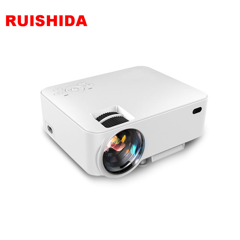 Quad Core Android 4.4 WiFi Support 1080P Full HD LCD Home theater Wireless Projecrtor(China (Mainland))