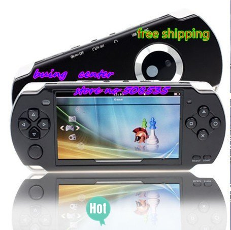 "wholesale+Big discount for 4.3"" TFT display PMP Game Player with camera TV OUT mp5 player 4GB dropship(China (Mainland))"