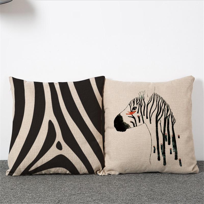 achetez en gros z bre housse de coussin en ligne des grossistes z bre housse de coussin. Black Bedroom Furniture Sets. Home Design Ideas
