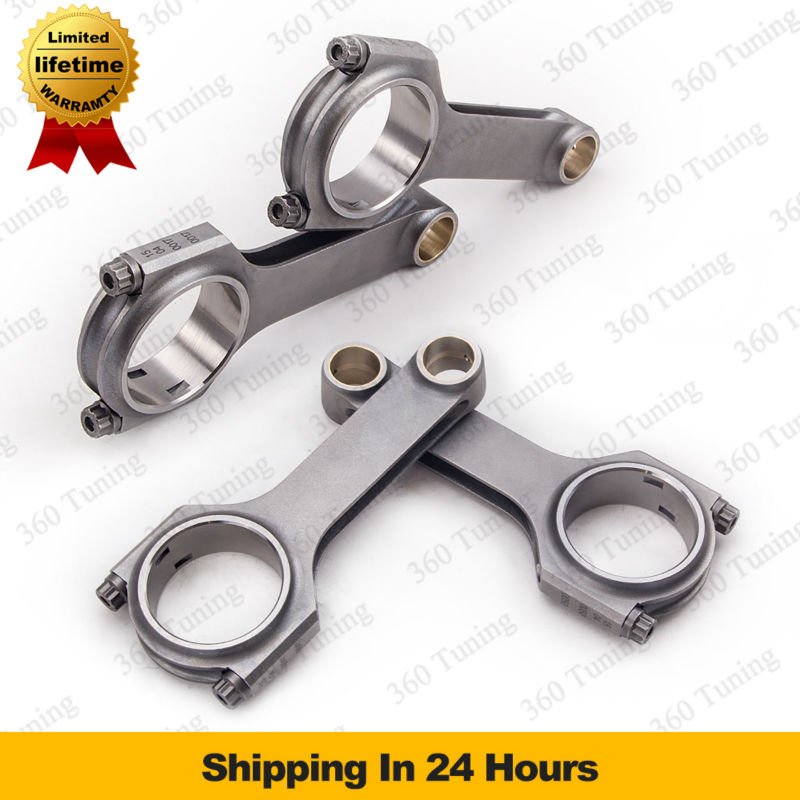 Forged Connecting Rod for Toyota Camry MR2 Celica GT SX 5SFE 5S-FE 2.2L Conrod rods 4340 H-Beam Forge Billet Bielle Biella Biela(China (Mainland))